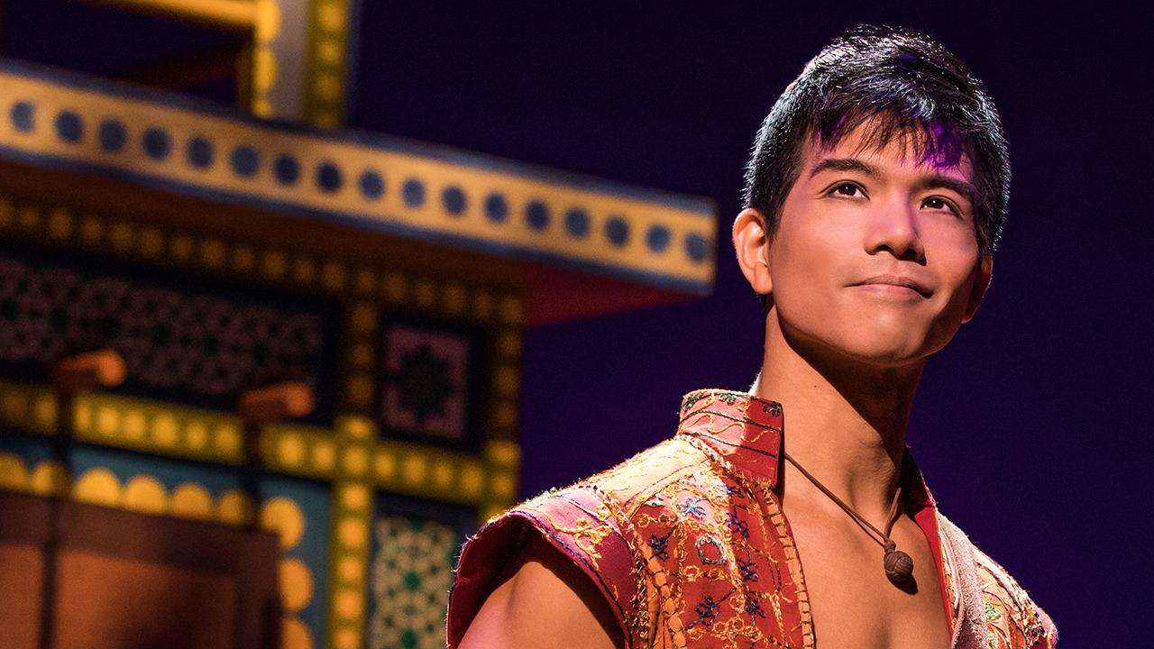 Exclusive: Broadway Star Telly Leung Transforms Into Aladdin