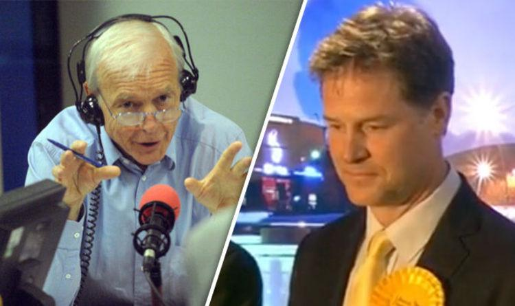'12 years and it's all over' John Humphrys mocks Nick Clegg after losing his seat