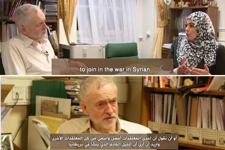 Jeremy Corbyn says he wants British jihadis to return to UK in Arab TV interview