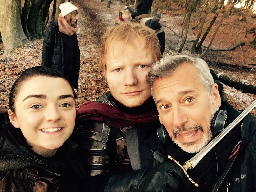 Ed Sheeran Deletes His Twitter Account After Viral Game of Thrones Cameo
