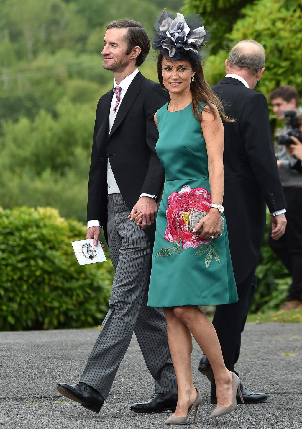 Pippa Middleton and Husband James Matthews Step Out for Friend's Wedding inIreland