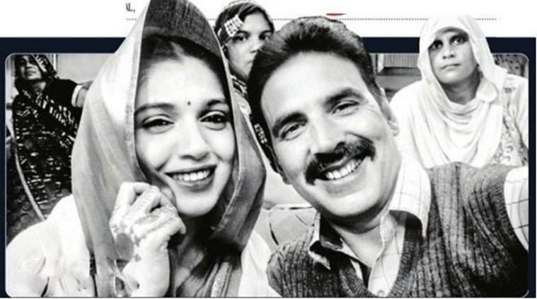 Toilet Ek Prem Katha actors Akshay Kumar and Bhumi Pednekar are goofing around with Dabboo Ratnani