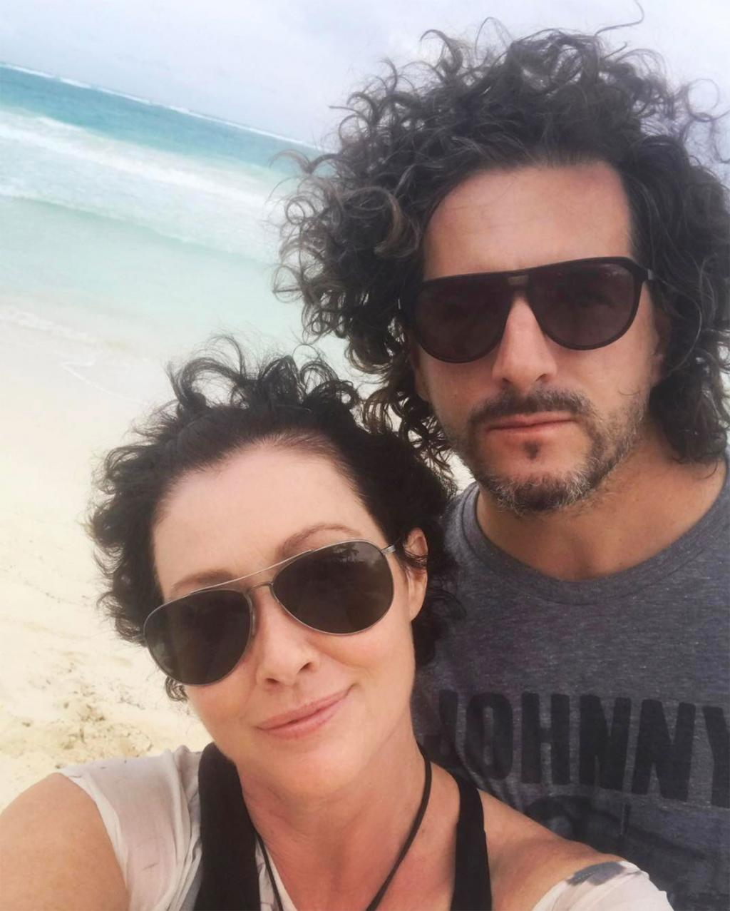 Shannen Doherty Shows Off Growing Locks Two Months After She Announced Her Remission