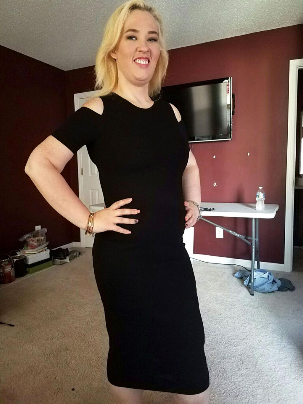 Mama June Models Trim Figure in Little Black Dress Months After 300-Lb. Weight  Loss