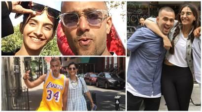 Photos: Sonam Kapoor is in a happy space with rumoured beau Anand Ahuja