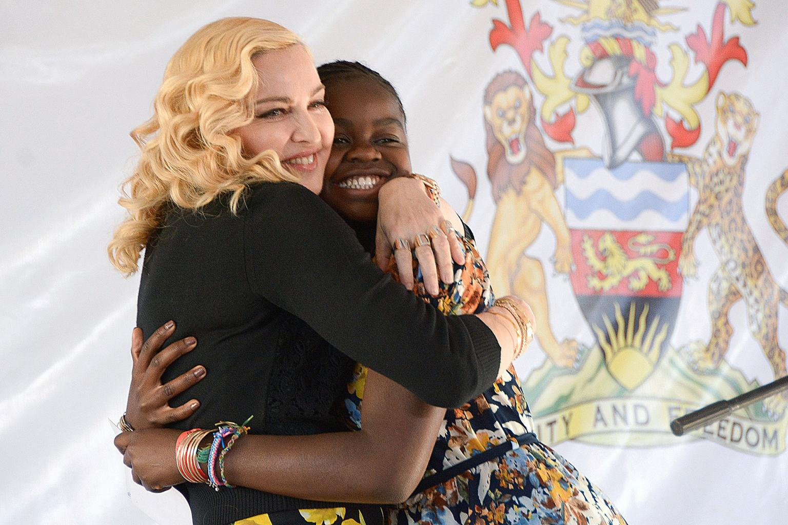 Madonna Recalls Emotional Fight to Adopt Daughter Mercy James:       'I Never Gave    Up
