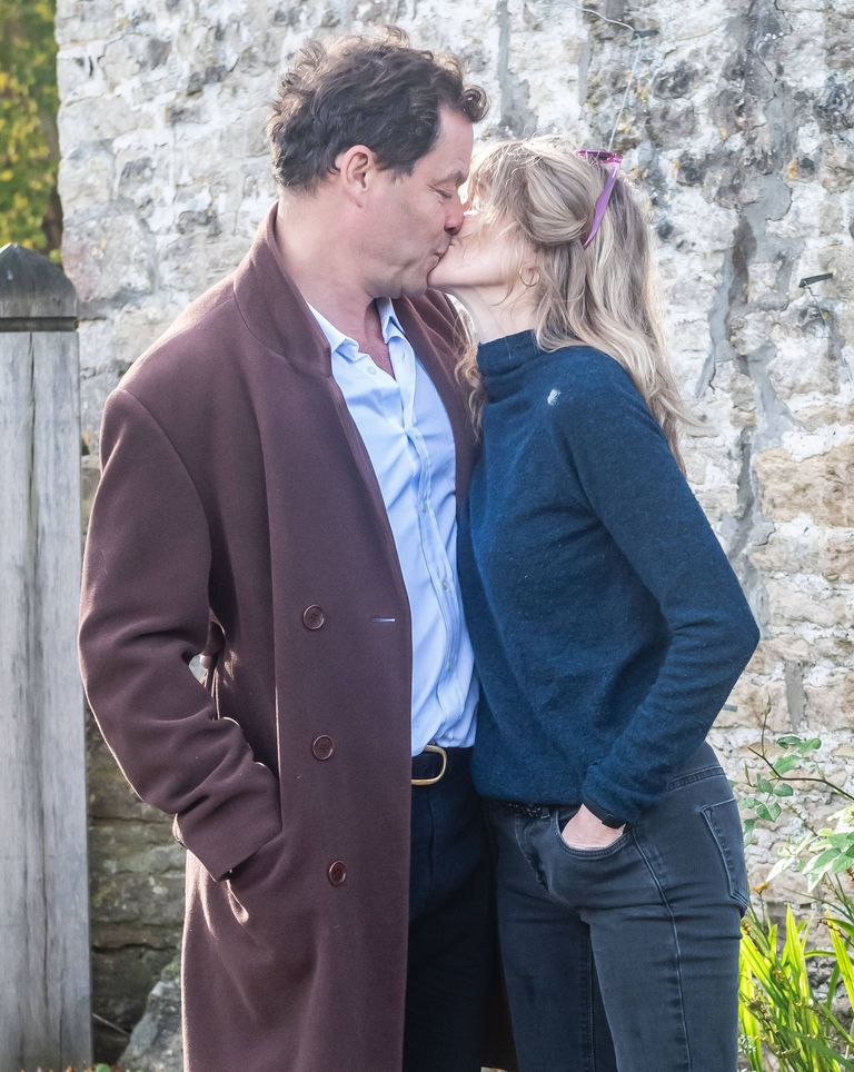 Lily James There is a lot to say about the Dominic West photo scandal