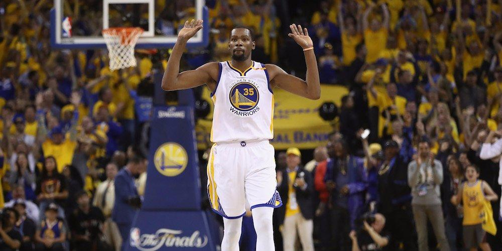 Kevin Durant had a funny reaction to the Warriors signing veteran guard Nick Young