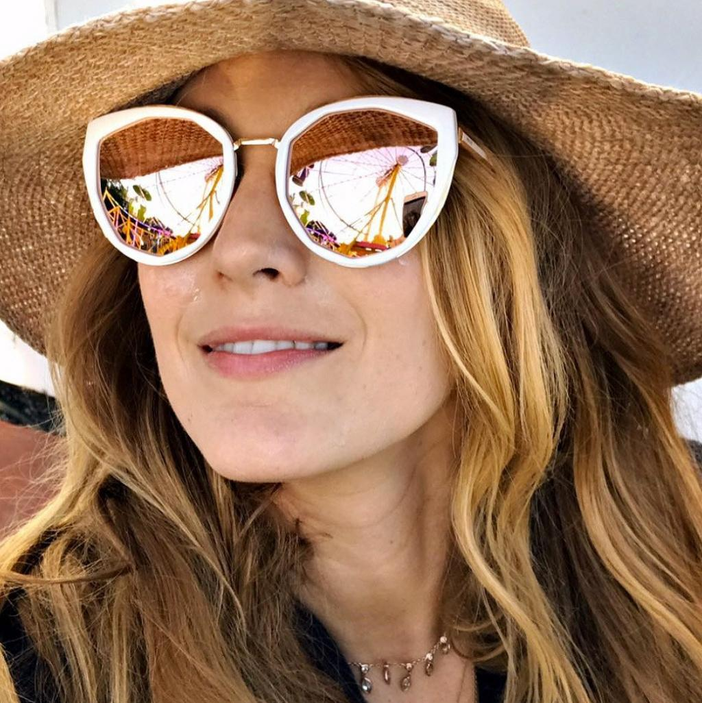 Blake Lively Says Her Life Is Pretty Sweet, Even When Covered in Clumpy Sunscreen