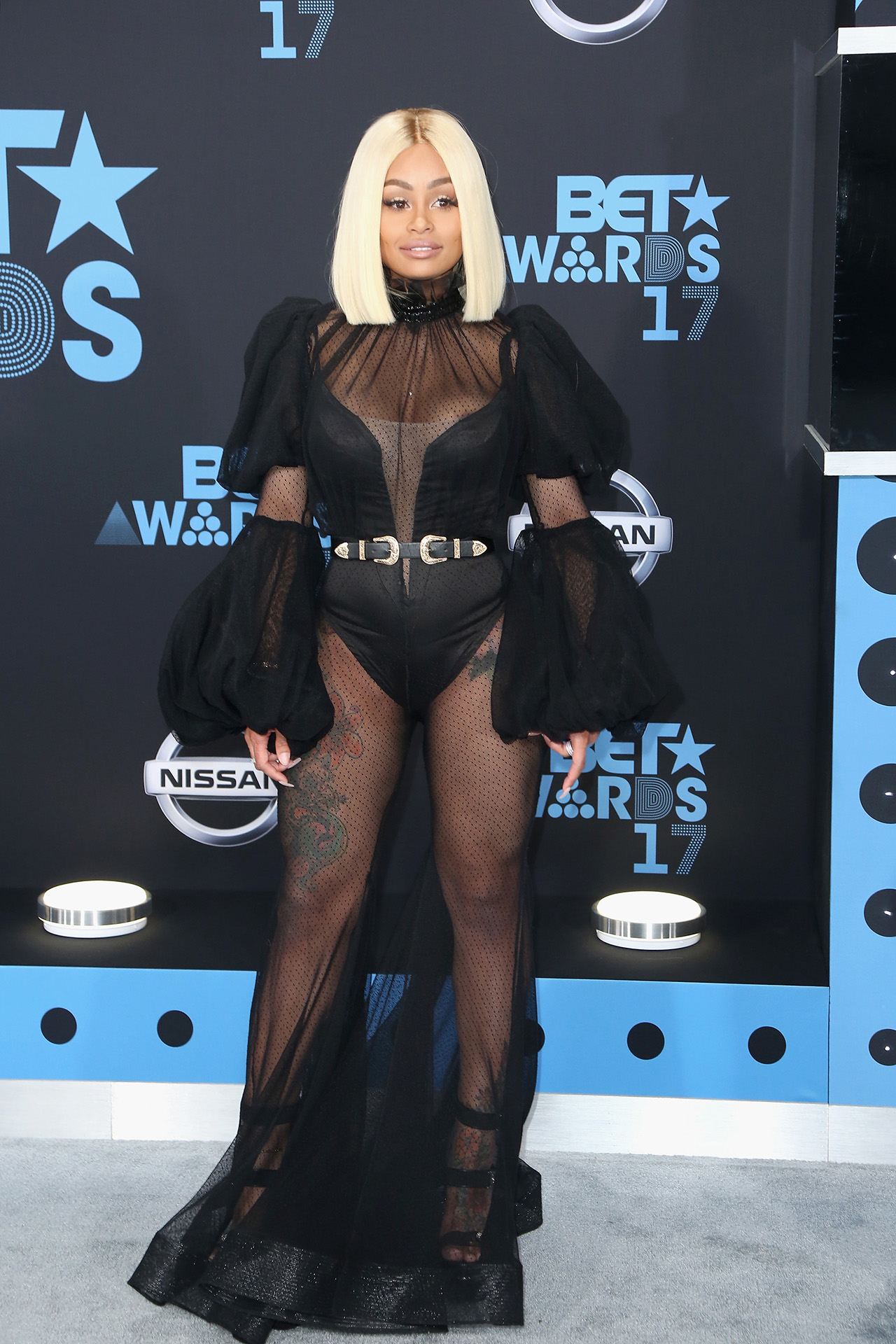 Blac Chyna Wows in Sheer Look at the Bet Awards, After Flaunting a Similar Ensemble the Night Before: Pics!