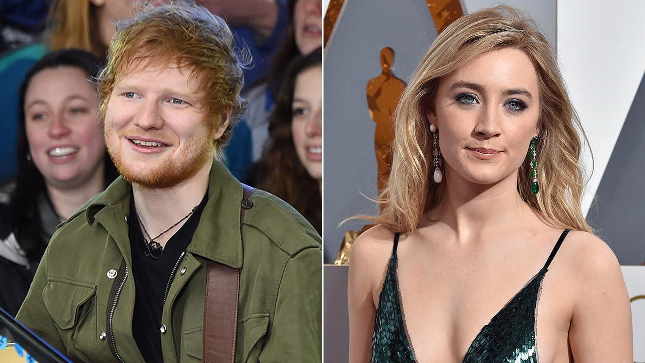 Ed Sheeran Says Actress Saoirse Ronan Purposefully Misspelled One of His Tattoos
