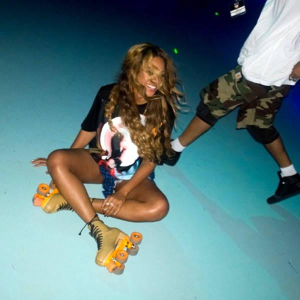 Beyoncé Roller Skates Her Way Into the Weekend With Jay-z and Friends