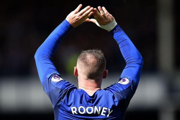 Everton FC news: Wayne Rooney was the only player 'comfortable on the pitch' in Stoke win, says manager Ronald Koeman