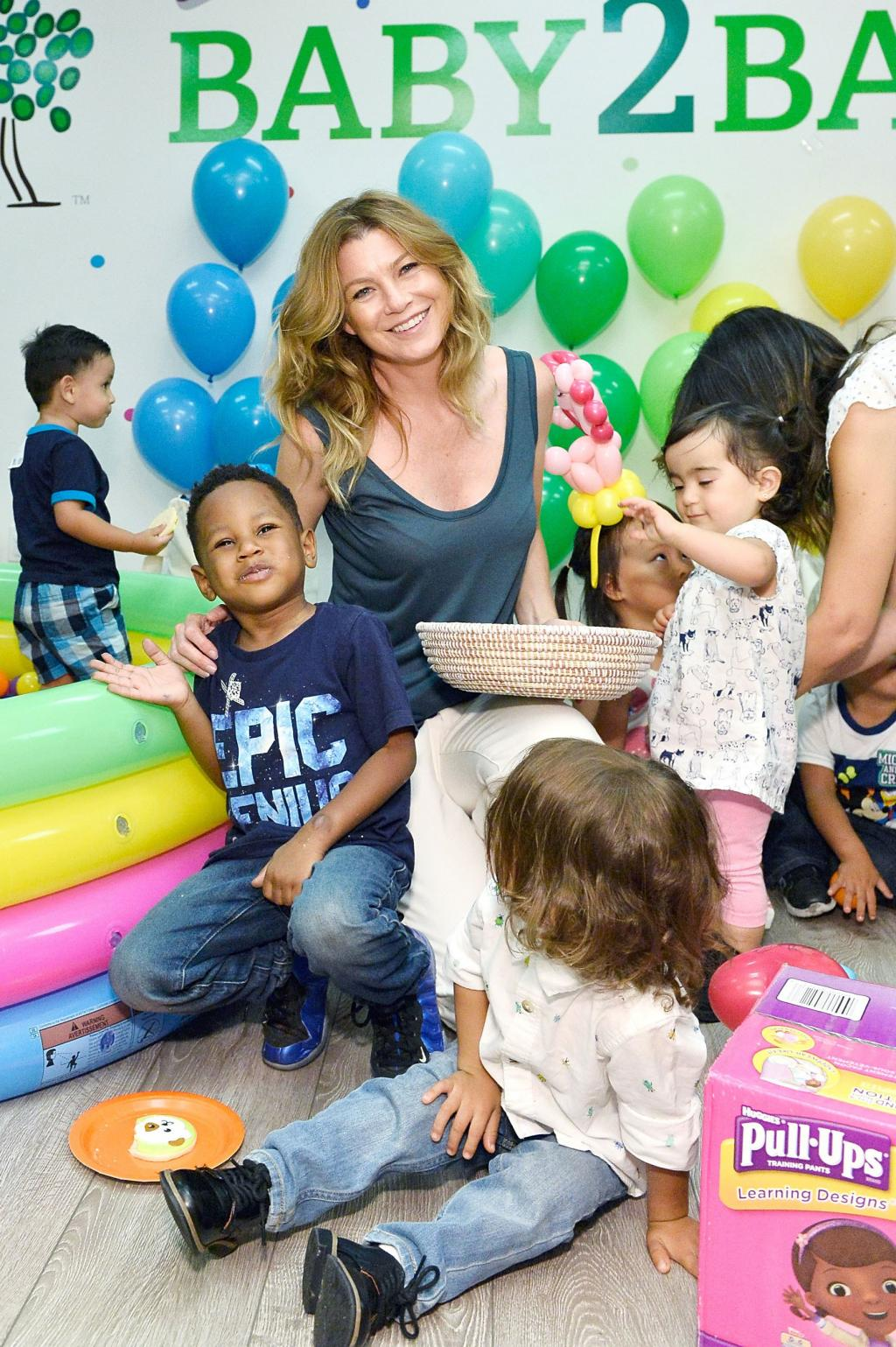 Ellen Pompeo Shares Her Go-to Summer Activity for Getting Her Kids    Physically as Tired as  Possible