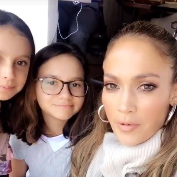 Jennifer Lopez Takes Alex Rodriguez's Kids for