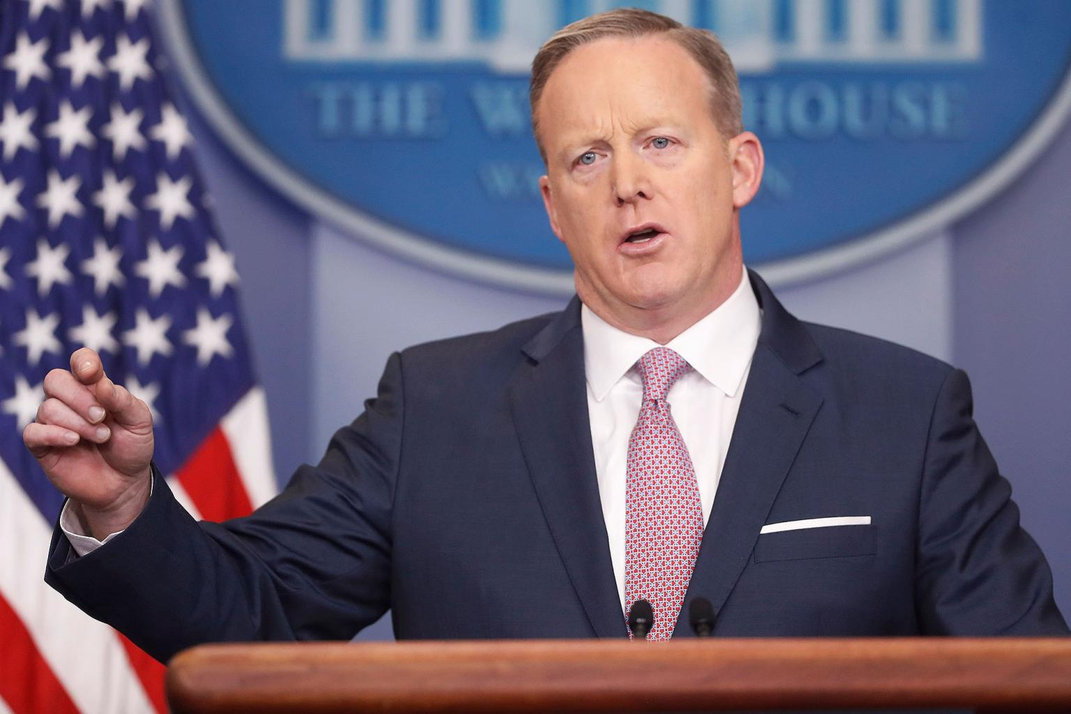 Sean Spicer's Hitler Comments Mashed Up with Veep Closing Credits
