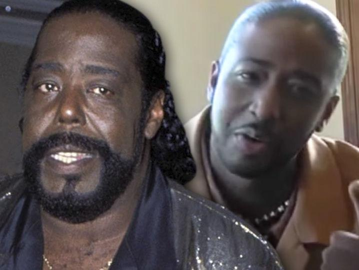 Barry White's Son Suing Late Singer's Estate and Widow