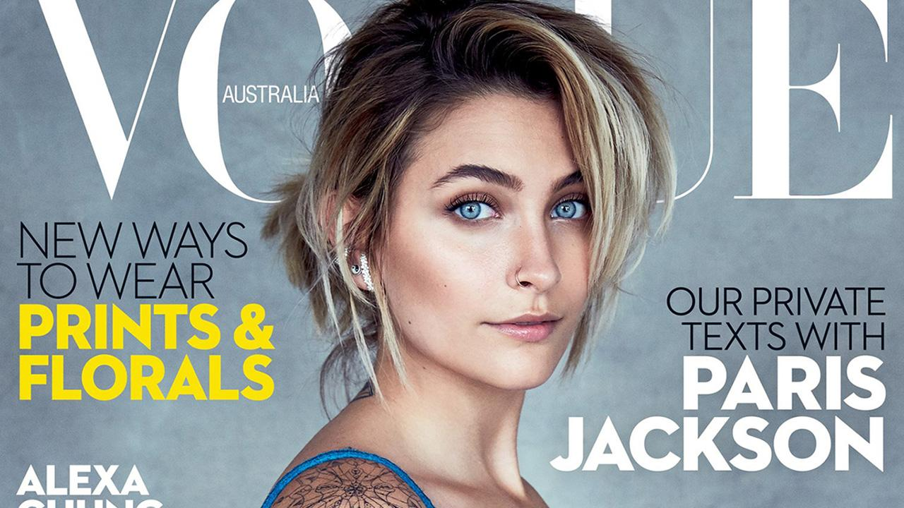 Paris Jackson Flashes Toned Abs, Says Young Girls Look Up to Her in        Vogue Australia