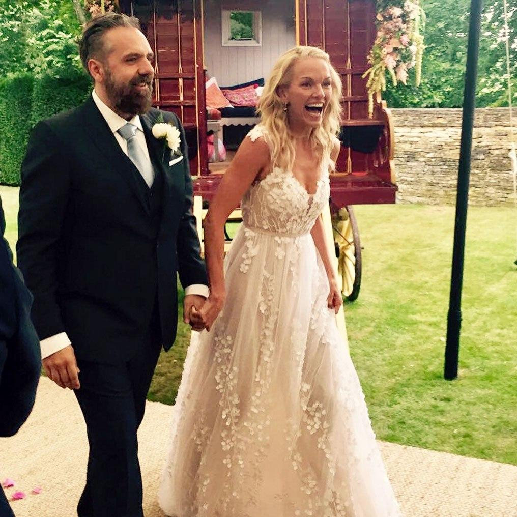 Rupert Murdoch's Daughter, Elisabeth Murdoch, Ties the Knot in a Gown Fit for a Fairytale Princess