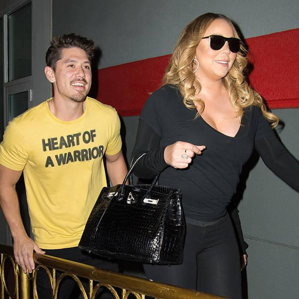 Mariah Carey and Bryan Tanaka Are All Smiles on Bowling Night With Kids