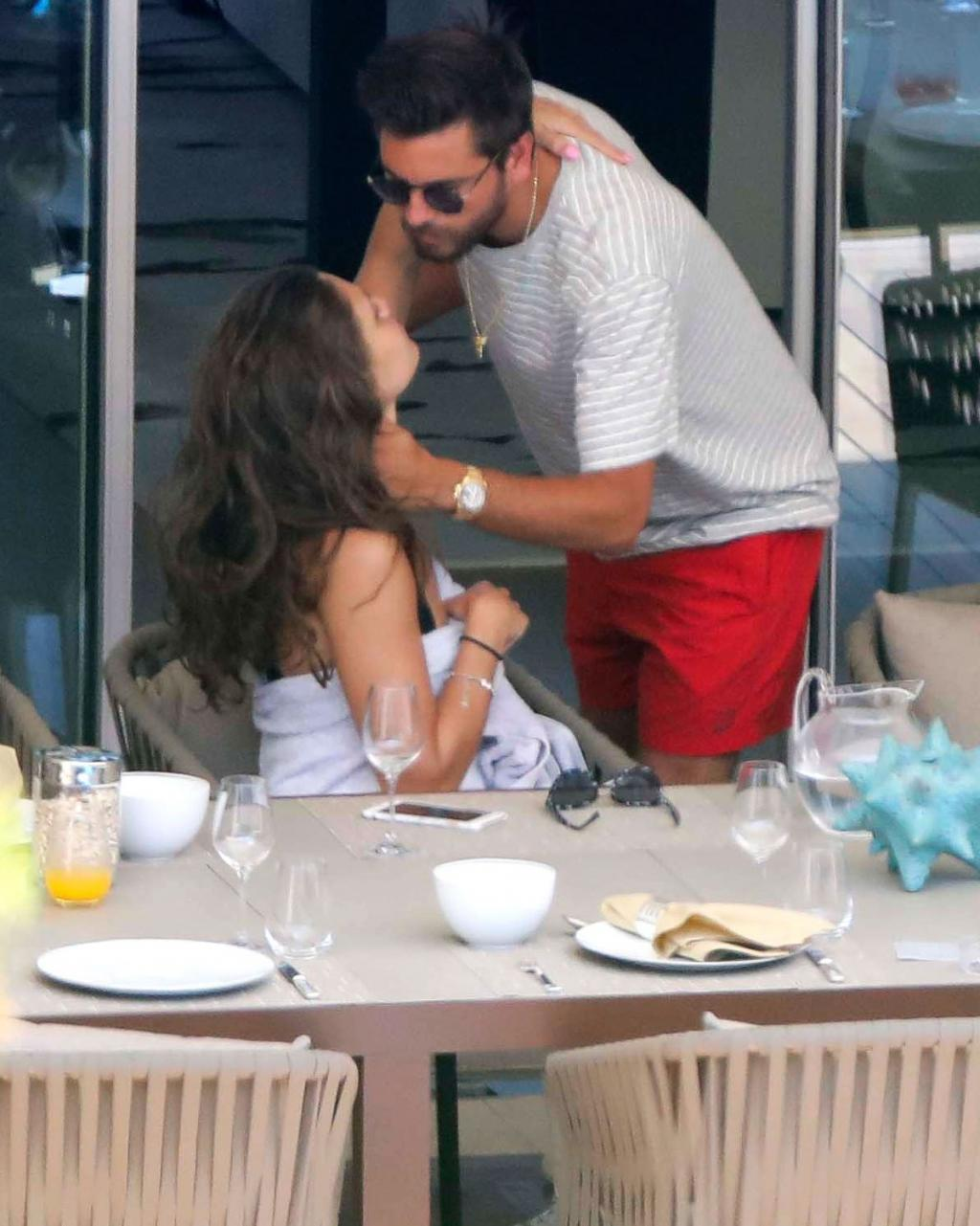 Scott Disick Cozies Up to Yet Another Brunette Beauty as Ex Kourtney Kardashian Leaves Cannes