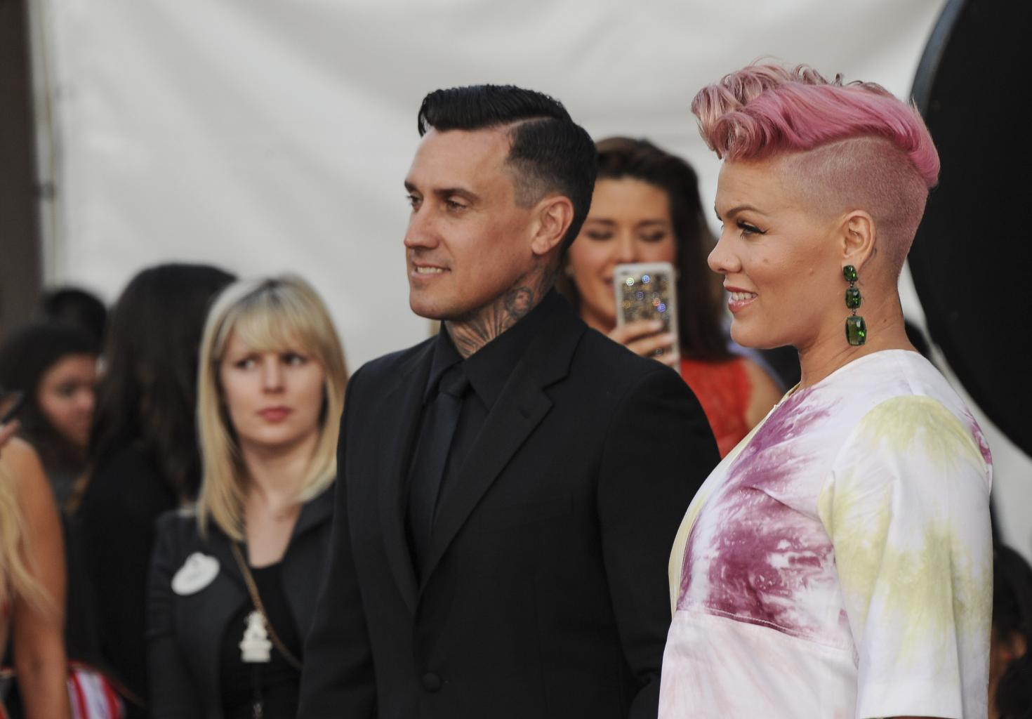 Pink Cycles 100 Miles For No Kid Hungry With Husband Carey Hart, Documents Entire Journey On Social Media — Watch!