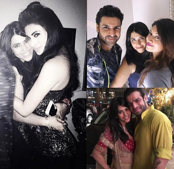 Karanvir Bohra, Divyanka Tripathi, Mouni Roy, Karan Patel wish the queen of television Ekta Kapoor on her birthday