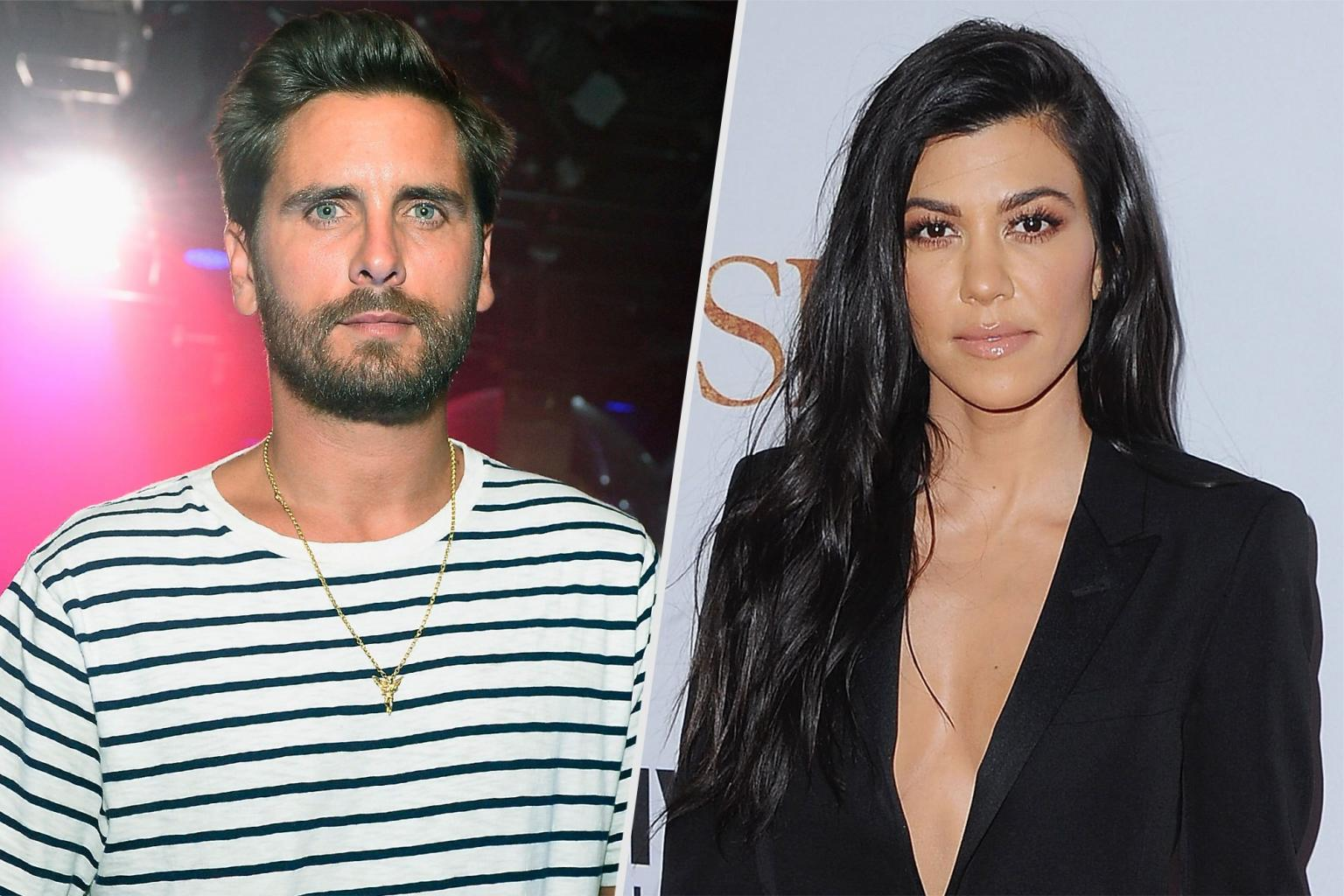 Kourtney Kardashian & Scott Disick Enjoy Family Vacation in Nantucket After Tense Few Months
