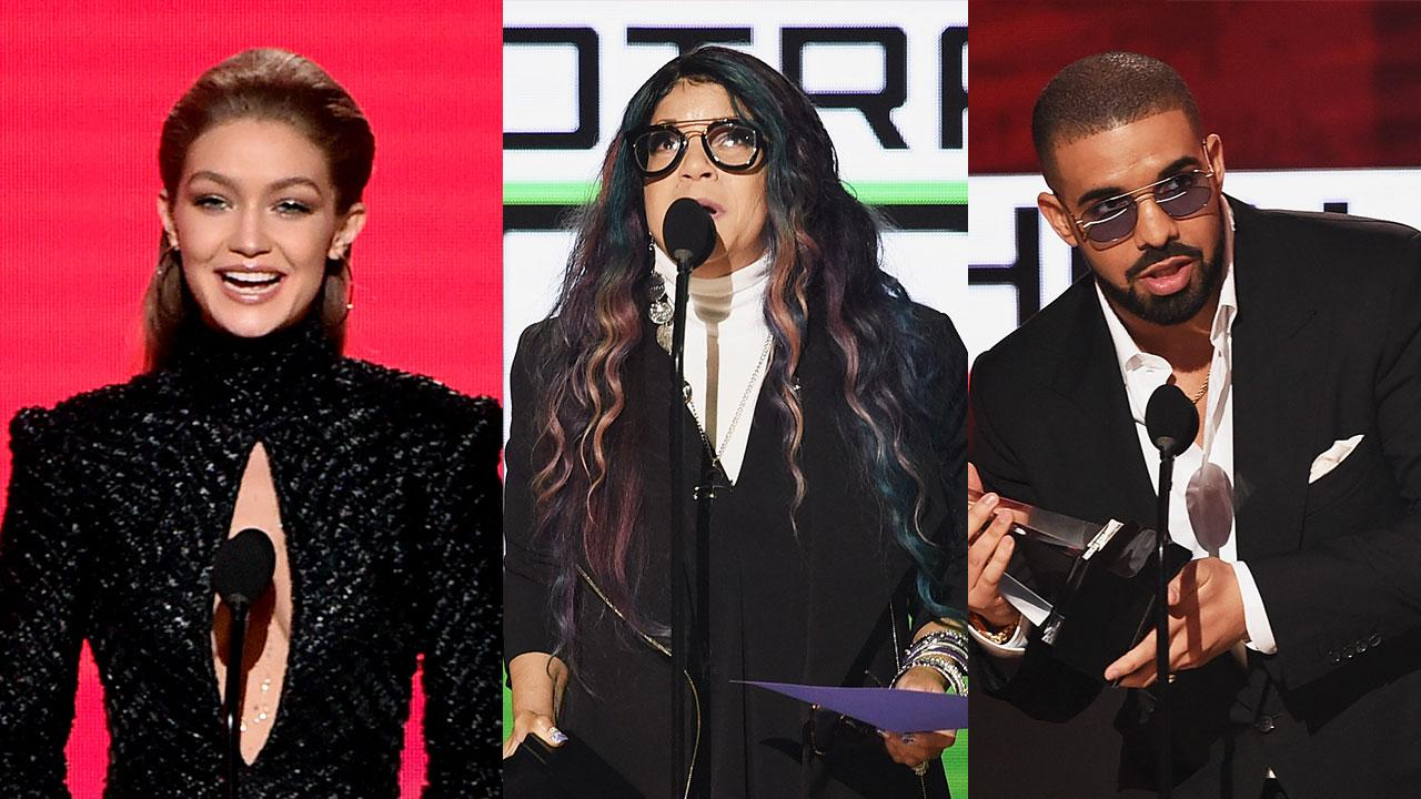 2016 American Music Awards' Best, Worst & Weirdest Moments: Selena Gomez Gets Candid, Lady Gaga Goes Barefoot