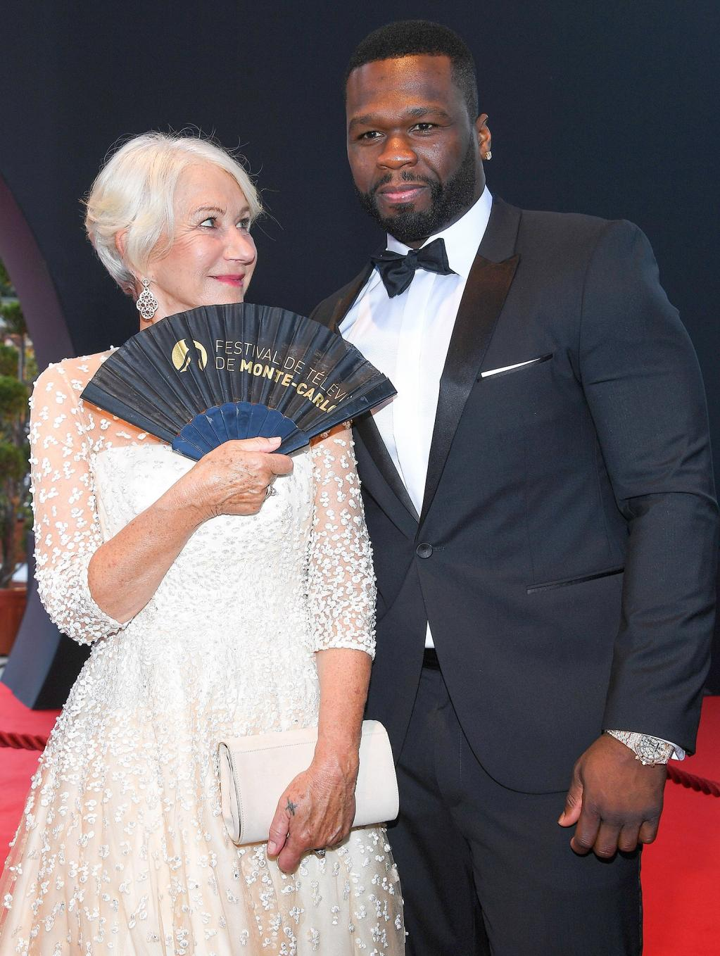 50 Cent Admits He Has a Crush on Helen Mirren:        She Just Has That    Thing