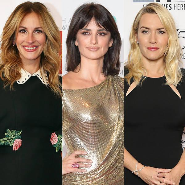 Julia Roberts, Pen  lope Cruz & Kate Winslet Are the Definition of Squad Goals as They Step Out for the Ultimate Ladies' Night
