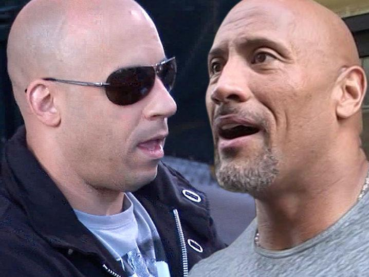 Vin Diesel Says He'd Beat The Rock Down In Real Fight (Video)
