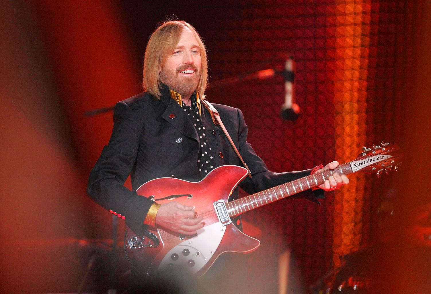 Rock Legend Tom Petty Dead at 66 After Massive Cardiac  Arrest