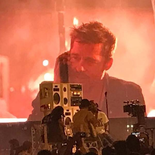 Brad Pitt Makes a Cameo During Frank Ocean's FYF Fest 2017 Set