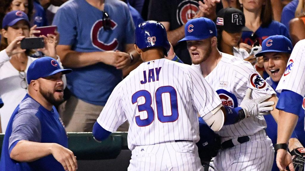 VIDEO: Jon Jay's pinch hit HR ties it up