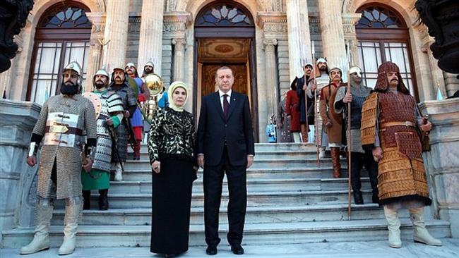 Amazing Erdogan's $615 million Palace Pictures