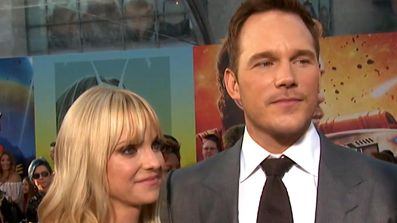 Exclusive: Anna Faris Marvels at Chris Pratt at 'Gotg 2' Premiere: 'I've Always Known He's a Brilliant Actor'