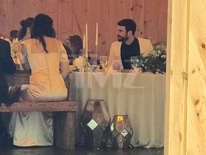 Sam Hunt and Hannah Lee Fowler Celebrate at Wedding Reception!!! (Photos)