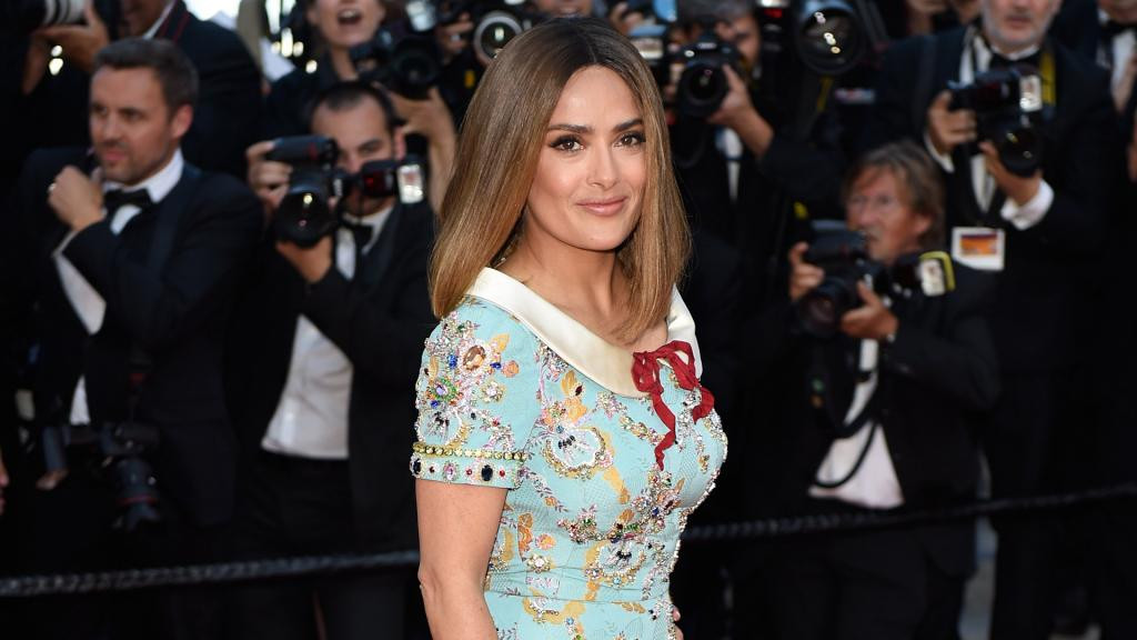 Salma Hayek reveals the secrets behind her beauty routine