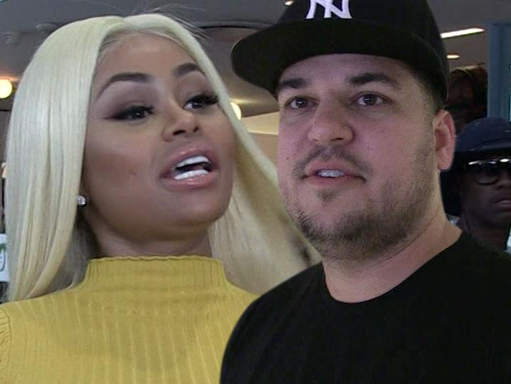 Rob Kardashian, Blac Chyna at War Over Beating, Cheating Allegations (UPDATE)