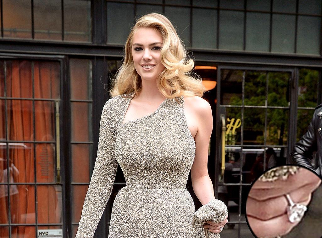 Kate Upton Breaks Big Engagement News at Met Gala 2016