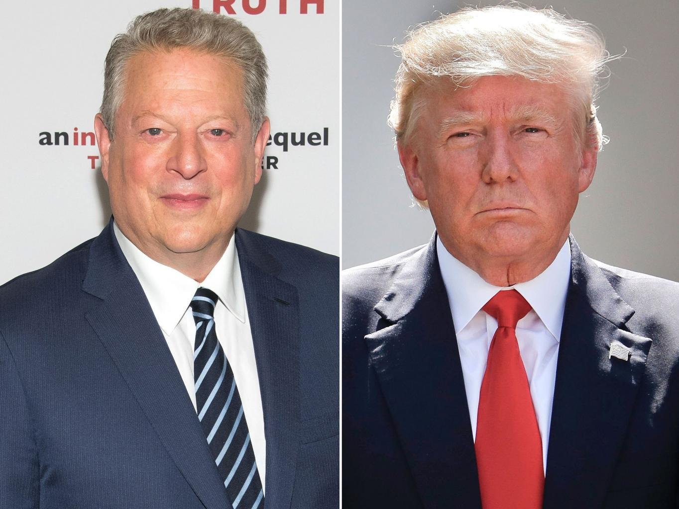 Al Gore Blasts Trump for        Normalizing      '  Climate Change Denial in New Book: The        Future of Humanity      '  Is at    Risk