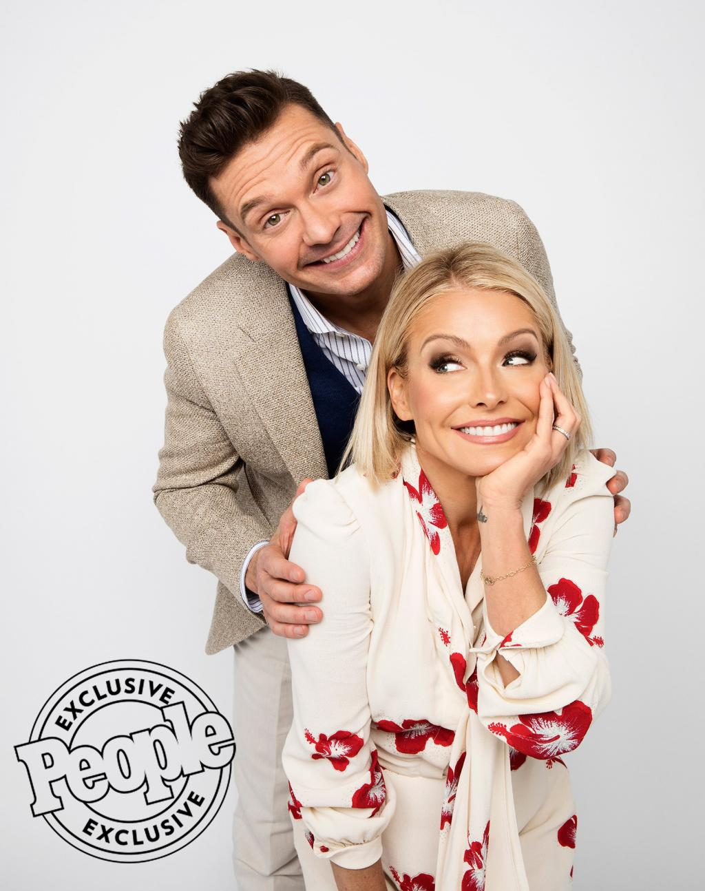 Ryan Seacrest Is Already a Fixture in Kelly Ripa's House — and She's BFFs with His Mom