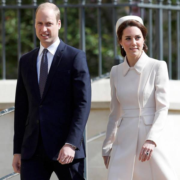 Kate Middleton Looks Elegant as She Curtsies to the Queen at Royal Easter Sunday Service