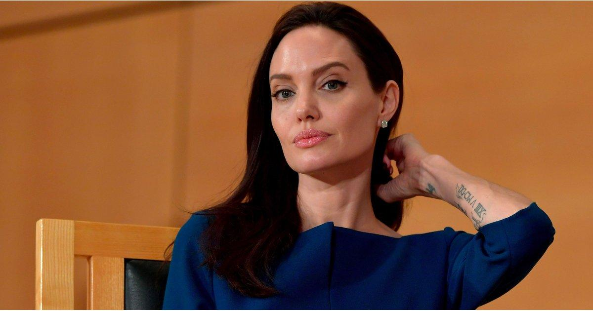 Angelina Jolie Responds to