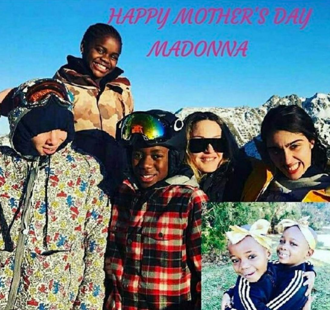 Madonna Wishes Herself a Happy Father  's Day Because    I  'm the Mommy and the  Daddy