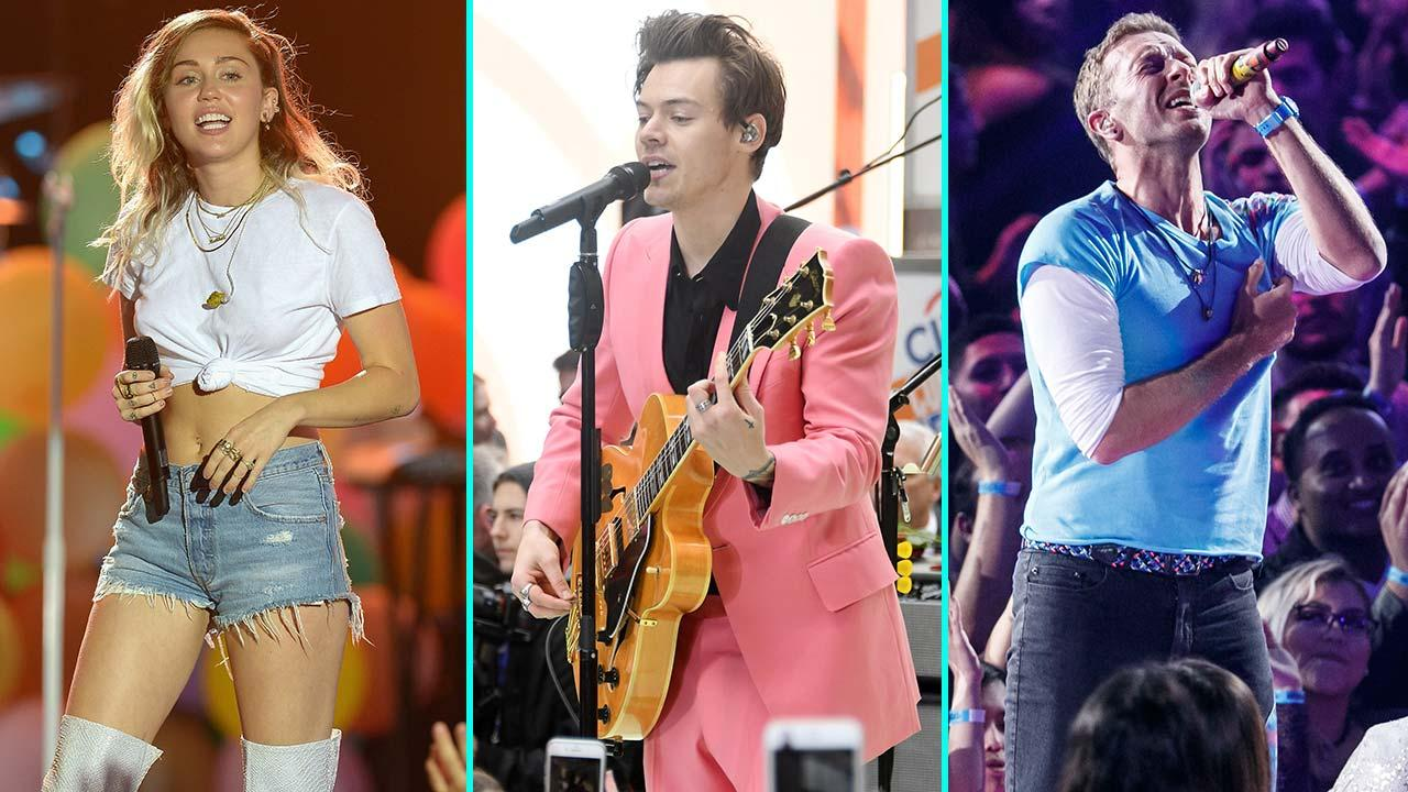 Miley Cyrus, Harry Styles and Coldplay to Perform at Star-Studded 2017 iHeartRadio Music Fest