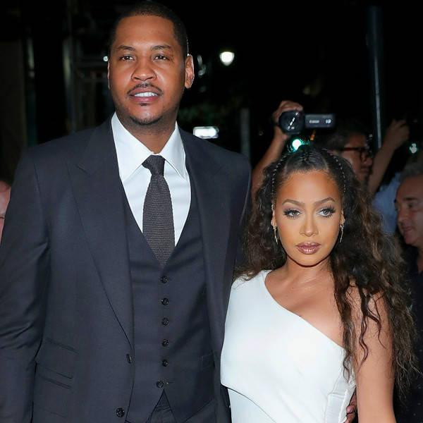 Carmelo Anthony Sends His Love to Estranged Wife La La Anthony Amid Split Drama