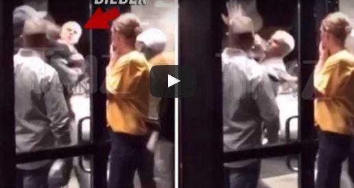 Justin Bieber Fist Fight Video