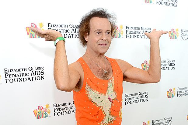 Richard Simmons Hospitalized With 'Severe Indigestion'